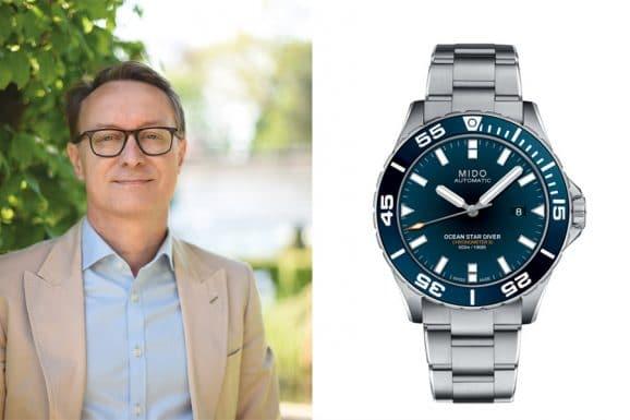Holger Christmann, Chefredakteur UHREN-MAGAZIN ist von der Mido Ocean Star Chronometer 600 begeistert