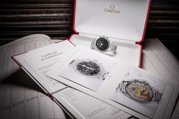 Omega: Echtheitszertifikat für Vintage-Uhren