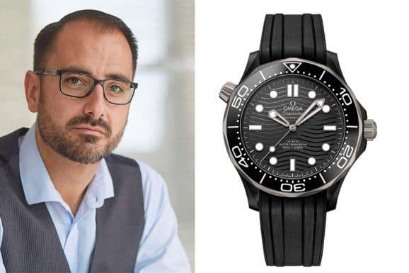Chronos-Redakteur Alexander Krupp entscheidet sich für die Omega Seamaster Diver 300M in Keramik und Titan