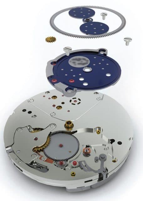 Mond steht, Himmel dreht: die besondere Konstruktion des Kalibers RMK 04