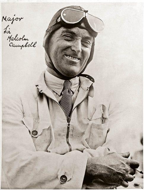 Sir Malcom Campbell Rennsport Pionier