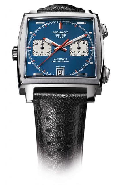 TAG Heuer Monaco: Jubiläumsmodell zum 40. Geburtstag der Rennsportuhr von 2009
