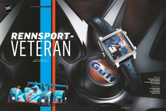 Test TAG Heuer Monaco Calibre 11 Special Edition Gulf