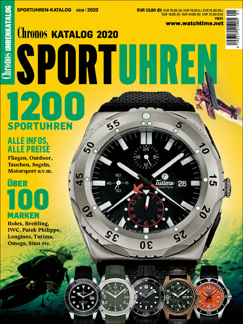 Produkt: Chronos Sportuhren-Katalog 2019/2020