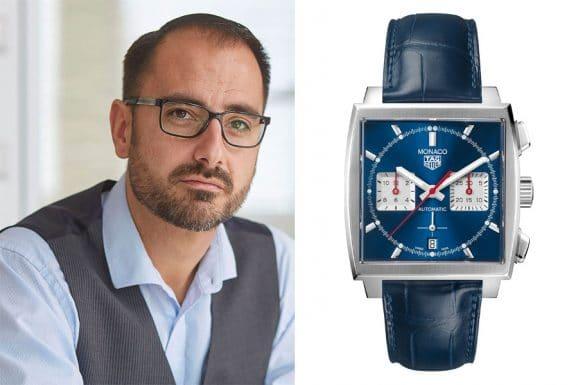 Redaktionstipp bunte Uhren: Alexander Krupp entscheidet sich für die TAG Heuer Monaco Calibre Heuer 02