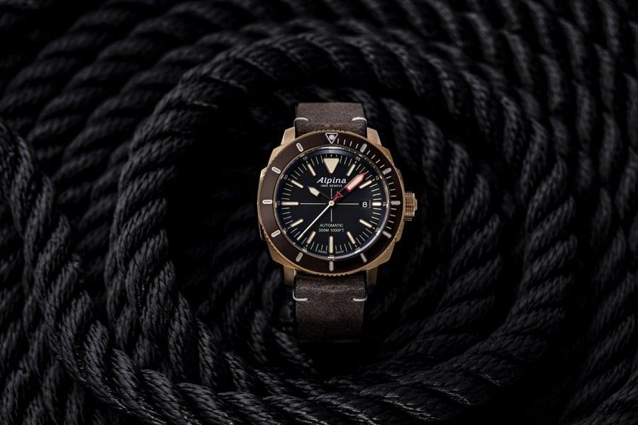 Alpina: Seastrong Diver 300 Taucheruhren Special 2019