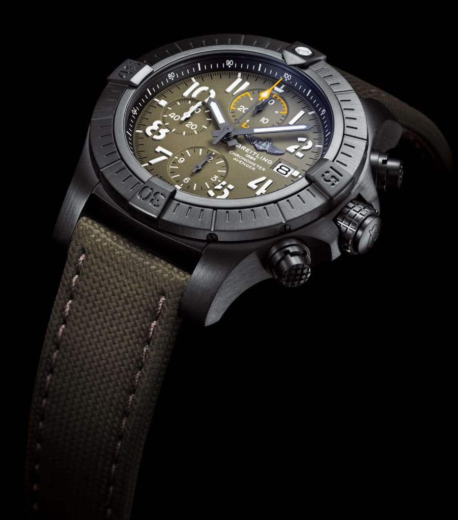 Breitling: Avenger Chronograph 45 Night Mission