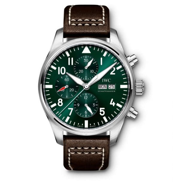 IWC: Pilot's Watch Chronograph Racing Green
