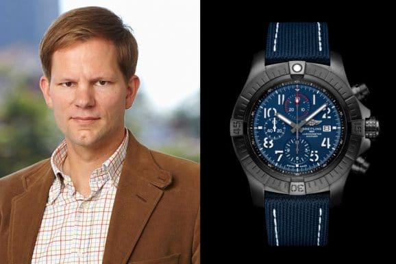 Redaktionstipp bunte Uhren: Jens Koch wählt die Breitling Super Avenger Chronograph 48 Night Mission