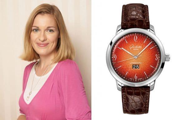 Redaktionstipp bunte Uhren: Kathrin Stude empfiehlt die Glashütte Original Sixties Jahresedition 2019