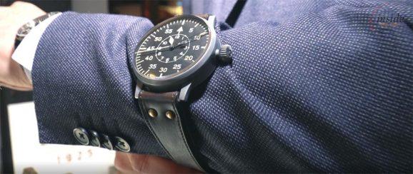 Laco Große Fliegeruhr auf der Hamburger UhrenNacht im Video
