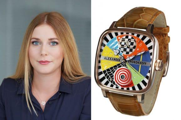 Tipp für eine bunte Uhr von Nadja Ehrlich, Online-Redakteurin Watchtime.net: Alexander Shorokhoff Kandy AVG 3