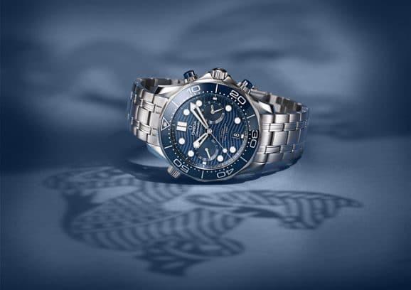 Omega: Seamaster Diver Chronograph Taucheruhren Special 2019