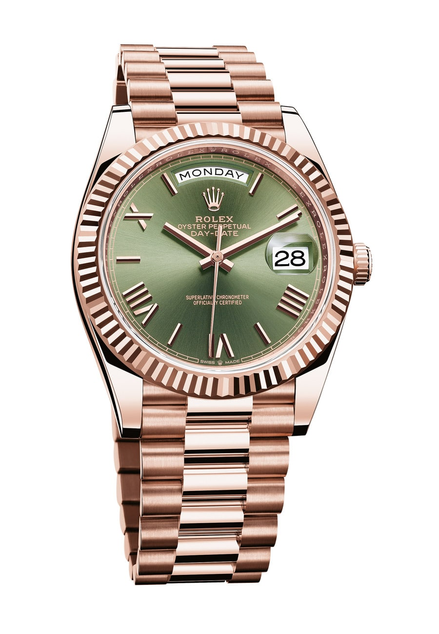 Rolex Oyster Perpetual Day-Date 40 in Everose-Gold