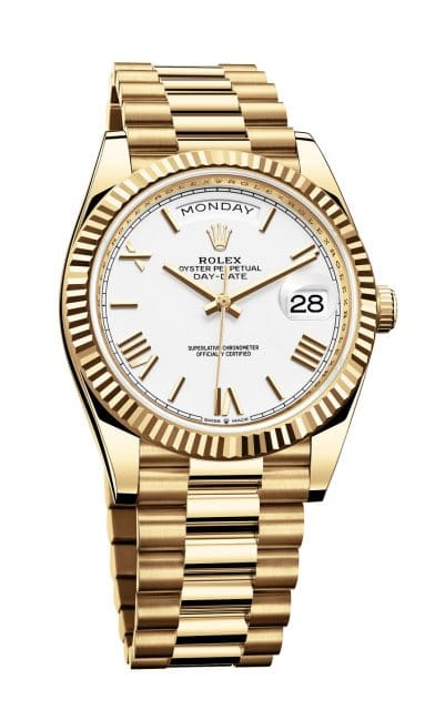 Rolex Oyster Perpetual Day-Date 40 in Gelbgold