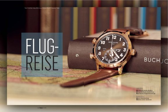Test Patek Philippe Calatrava Pilot Travel Time im Test bei Chronos