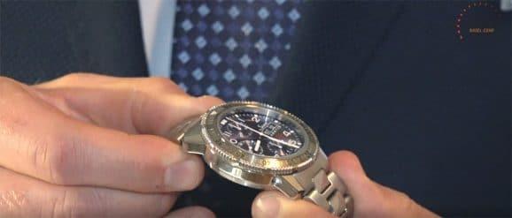 Sinn Modell 206 Arktis II bei der Hamburger Uhrennacht