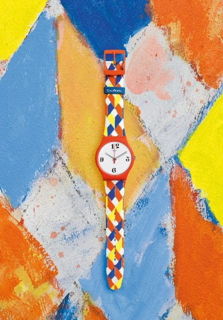 Swatch: Joe Tilson Venetian Watch