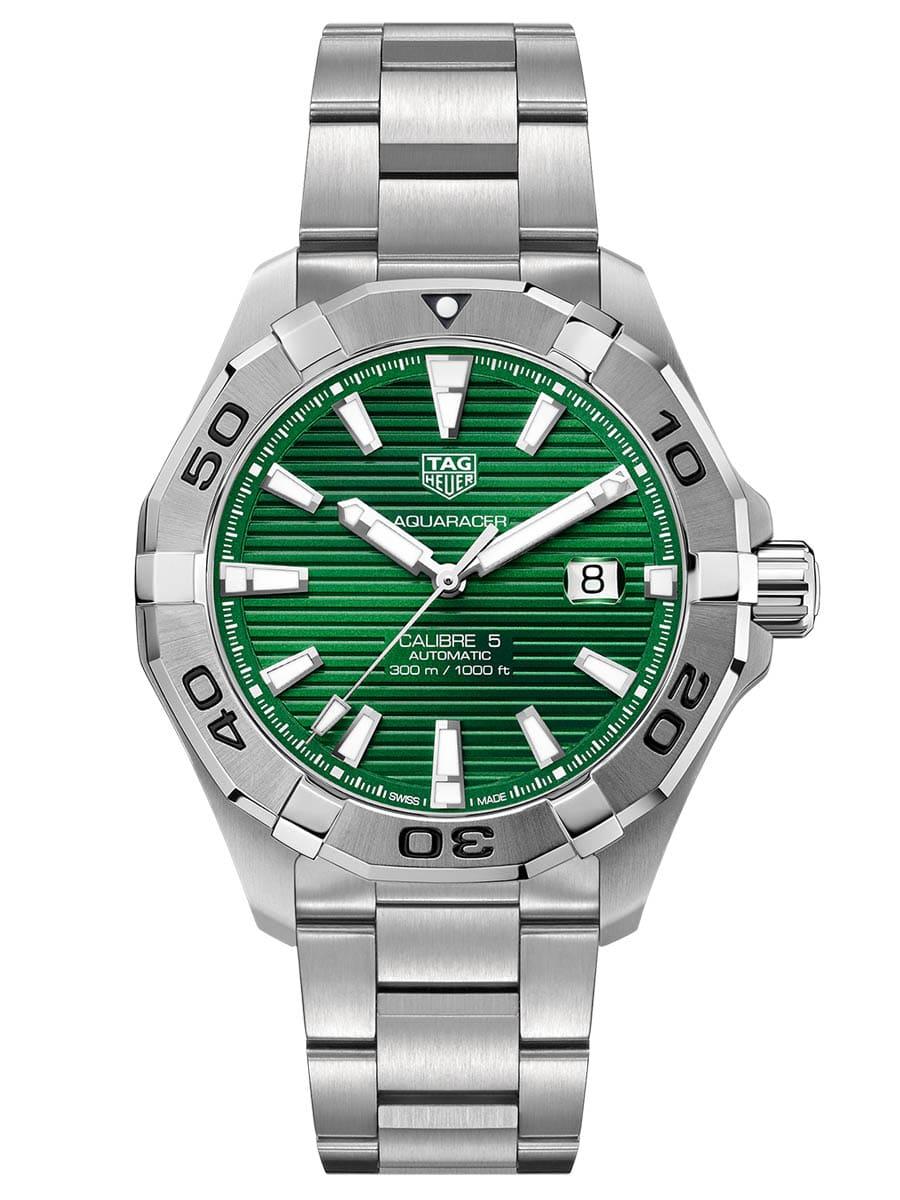 TAG Heuer Aquaracer mit grünem Zifferblatt