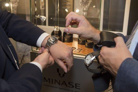 Watchtime Düsseldorf: Uhren ans Handgelenk legen