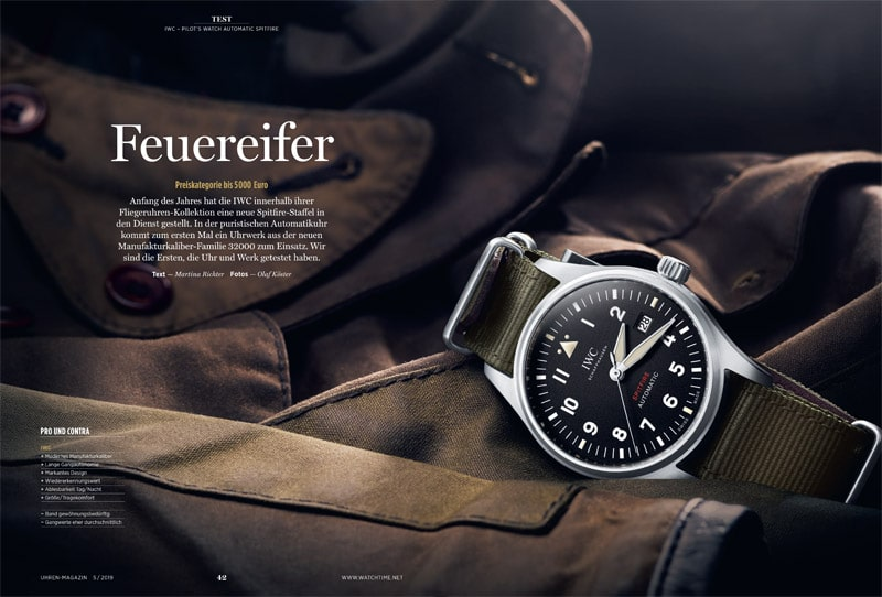Produkt: Download: IWC Pilot's Watch Automatic Spitfire im Test