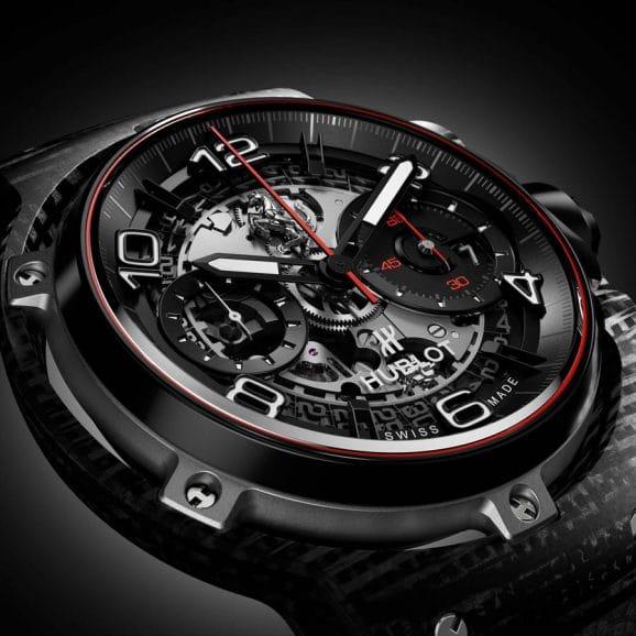 Hublot: Classic Fusion Ferrari GT 3D Carbon
