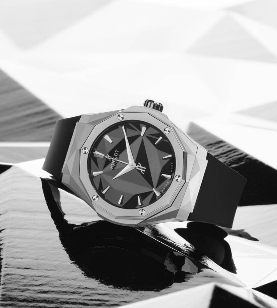 Hublot: Classic Fusion Orlinski Titanium