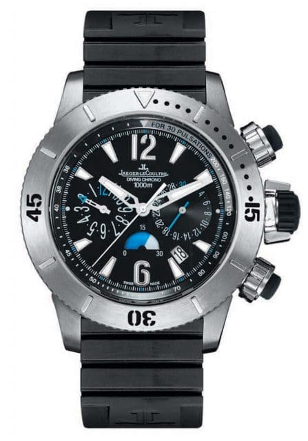 Jaeger-LeCoultre: Master Compressor Diving Chronograph.