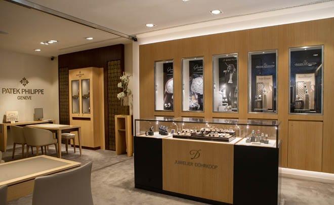 Juwelier Dührkoop von Innen