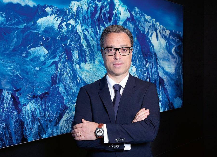 Montblanc-CEO Nicolas Baretzki