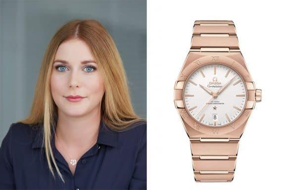 Nadja Ehrlich, verantwortliche Online-Redakteurin Watchtime.net, empfiehlt die Omega Constellation Gent