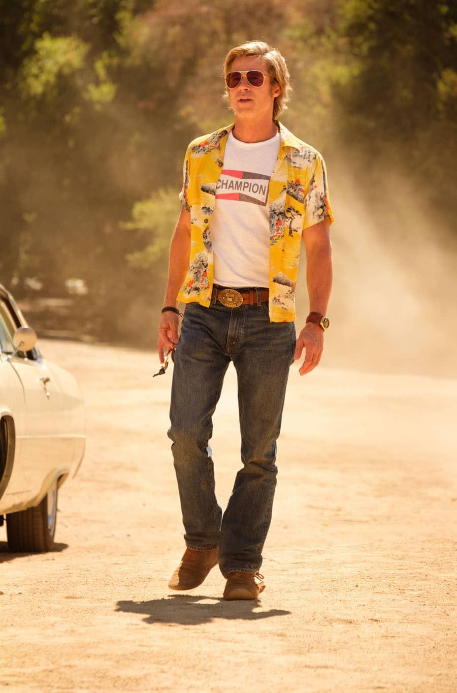 """Brad Pitt trägt in """"Once upon a Time in Hollywood"""" einen Vintage-Bullhead-Chronographen von Citizen"""