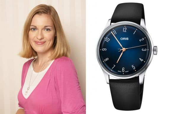 Watchtime.net-Redakteurin Katharina Studer gefällt die Oris James Morrison AoM Limited Edition