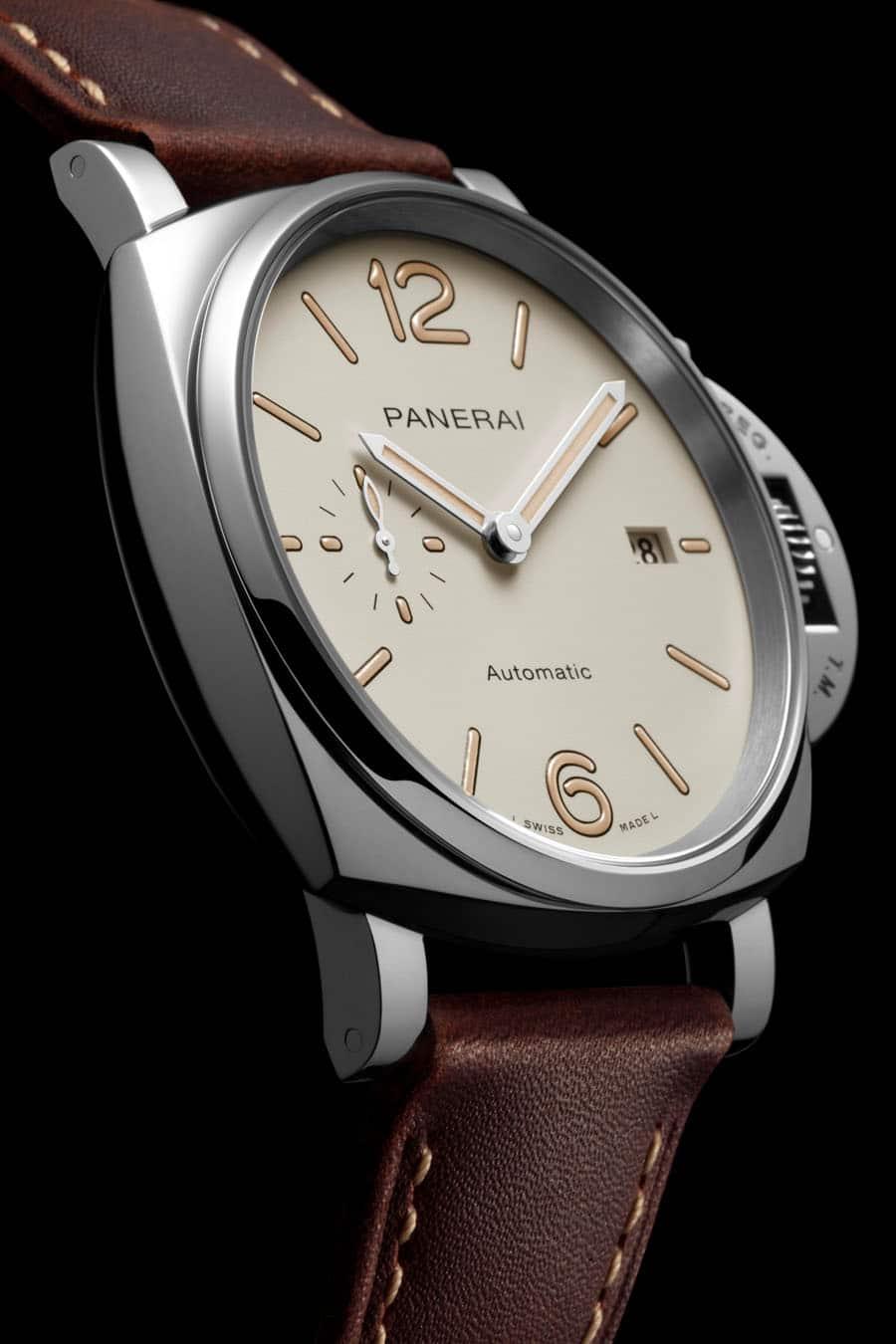Panerai: Luminor Due PAM01046 mit beigefarbenem Zifferblatt