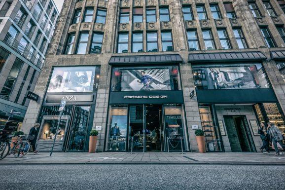 Porsche Design: Store Hamburg