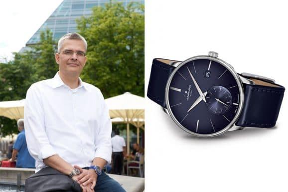 Favorit schlichte Uhren von Rüdiger Bucher: Junghans Meister Mega Kleine Sekunde