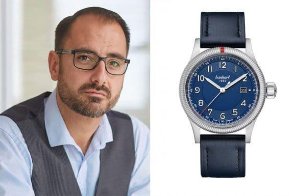 Favorit schlichte Uhren von Alexander Krupp: Hanhrt Pioneer One