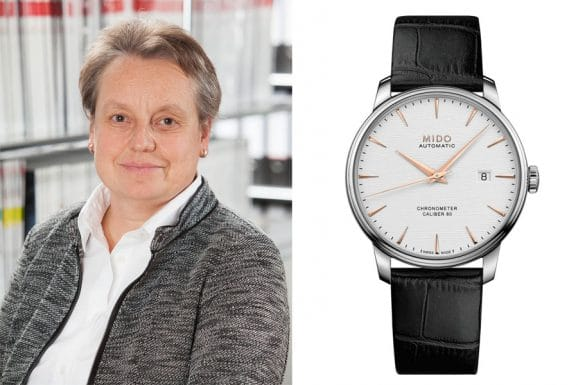 Favorit schlichte Uhren von Martina Richter: Mido Baroncelli Caliber 80 Chronometer Silizium