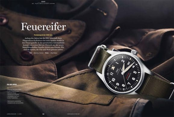 Im Test: IWC Pilot's Watch Automatic Spitfire