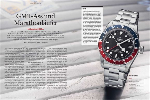 Im Test: Tudor Black Bay GMT