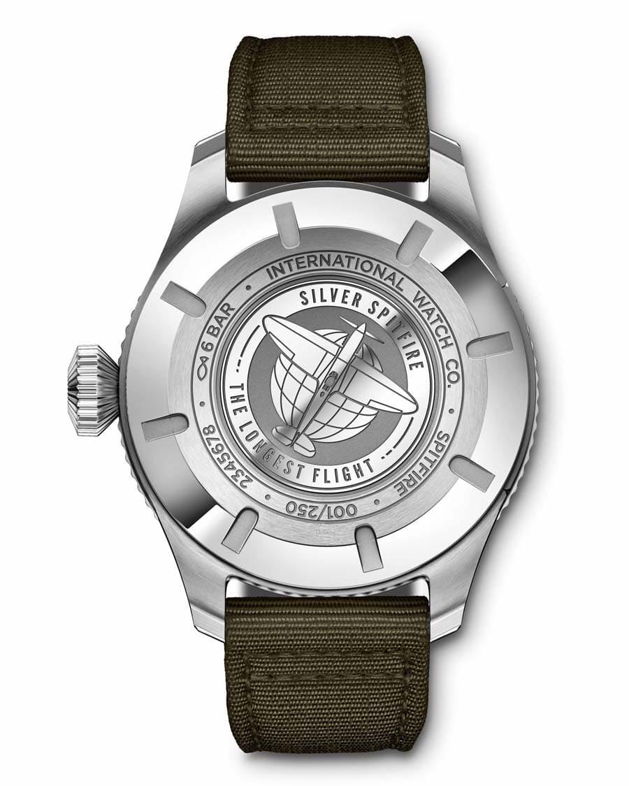 IWC Pilot's Watch Timezoner Spitfire Edition The Longest Flight