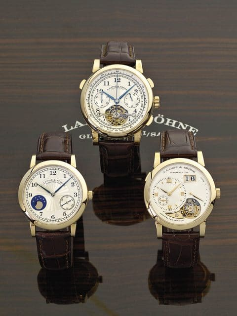A. Lange & Söhne: Drei Meilensteine der Uhrmacherei