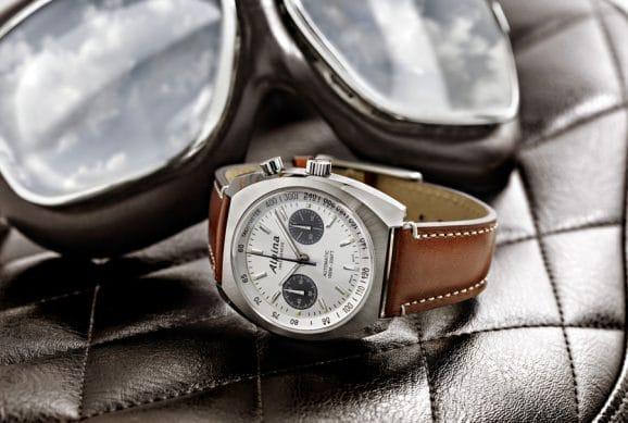 Alpina: Startimer Pilot Heritage Chronograph