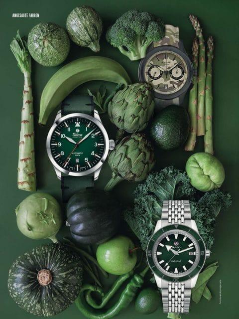 Gründ ist der neueste Farbtrend in der Uhrenwelt: Wie die grünen Uhren sich neben dem Megatrend behaupten, zeigt die große Übersicht
