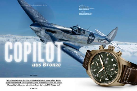 Test der IWC Pilot's Watch Chronograph Spitfire in Bronze