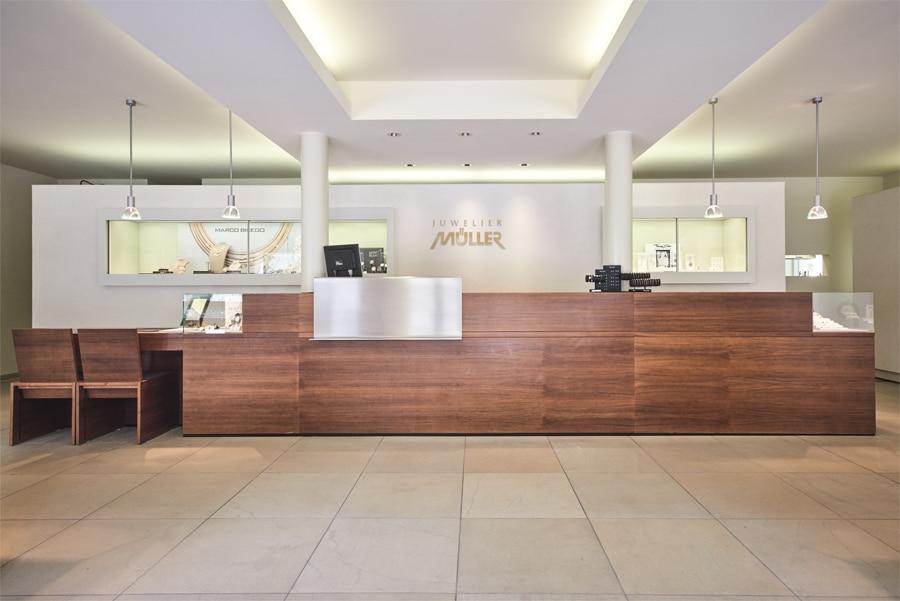 Juwelier Müller Oberstdorf Empfang Geschäft
