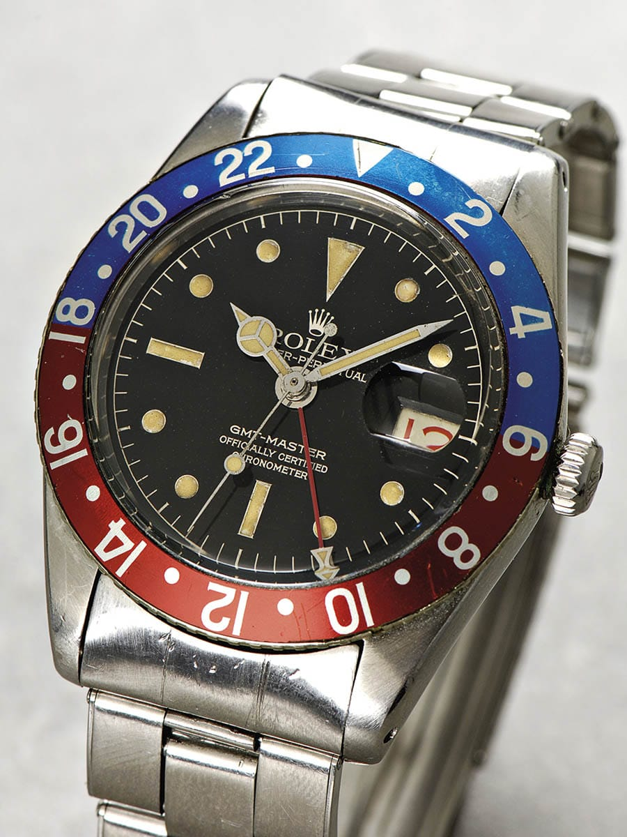 Rolex: Oyster Perpetual GMT-Master officially certified Chronometer von 1959