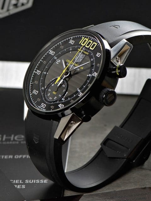 Tag Heuer: Mikrotimer Flying 1000 Chronograph von 2014