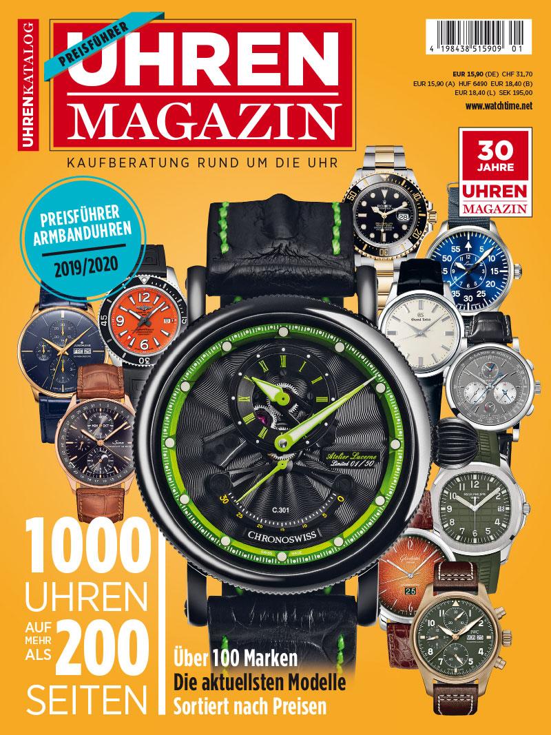 Produkt: Sonderheft UHREN-MAGAZIN Preisführer 2019/2020 Digital