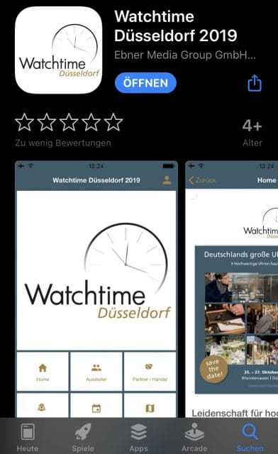 App Watchtime Düsseldorf